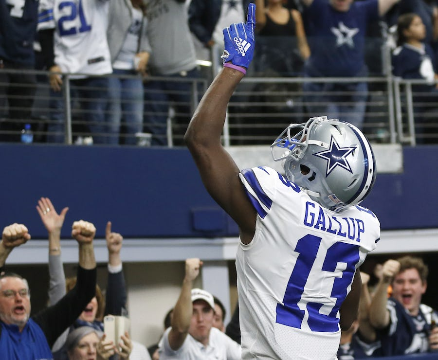 After emerging from family tragedy, Cowboys WR Michael Gallup showing maturity on, and off, the field   SportsDay
