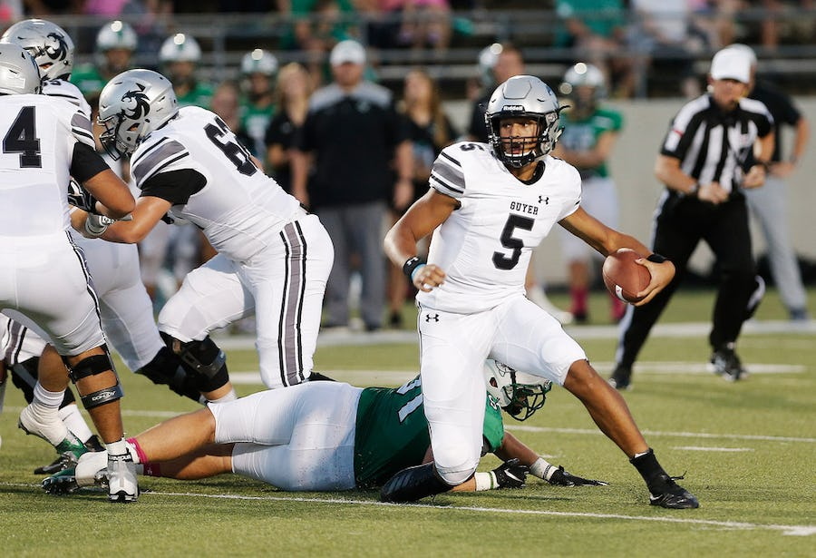 5 thoughts on Week 1, including an early test for Denton Guyer and a showdown between 5A, 6A state contenders | SportsDay