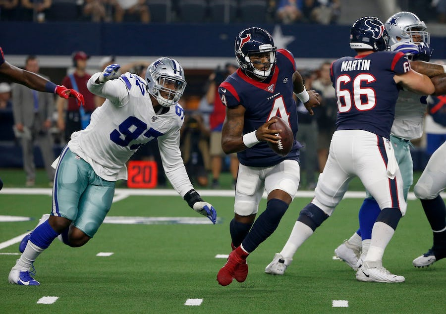 Can the Cowboys defensive line really be as dominant as it was against the Texans?   SportsDay