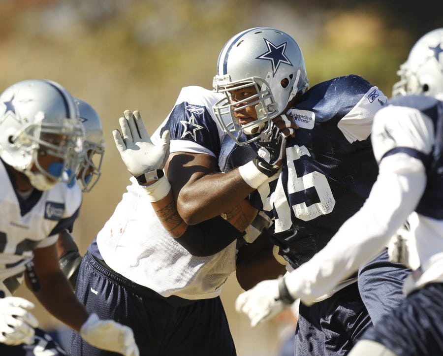 Ex-Cowboys player charged with illegally possessing firearms   SportsDay