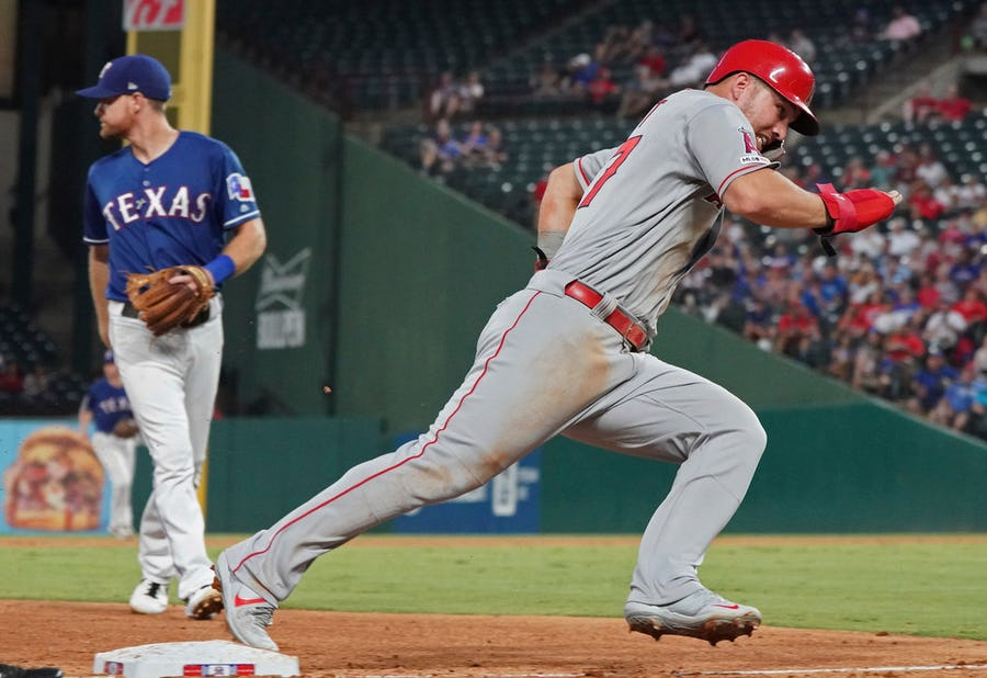 After dominant, record-setting season vs. Rangers, Mike Trout gives team a break by sitting out final meeting of the year | SportsDay