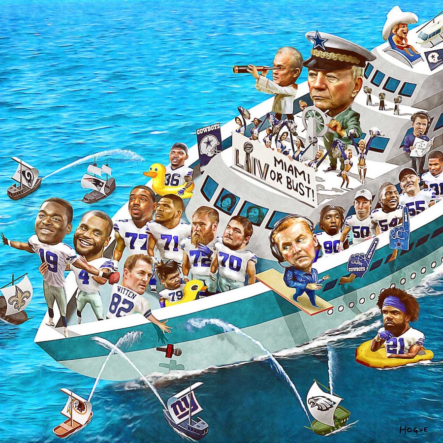 Sink or swim: Can Jerry Jones end 23-year absence from Super Bowl or will Cowboys fall short once again?   SportsDay