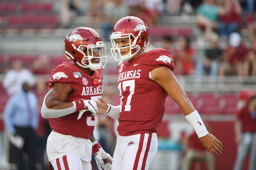 Things Texas A M Fans Need To Know About Arkansas Razorbacks Off To Tough Start In Year Under Chad Morris