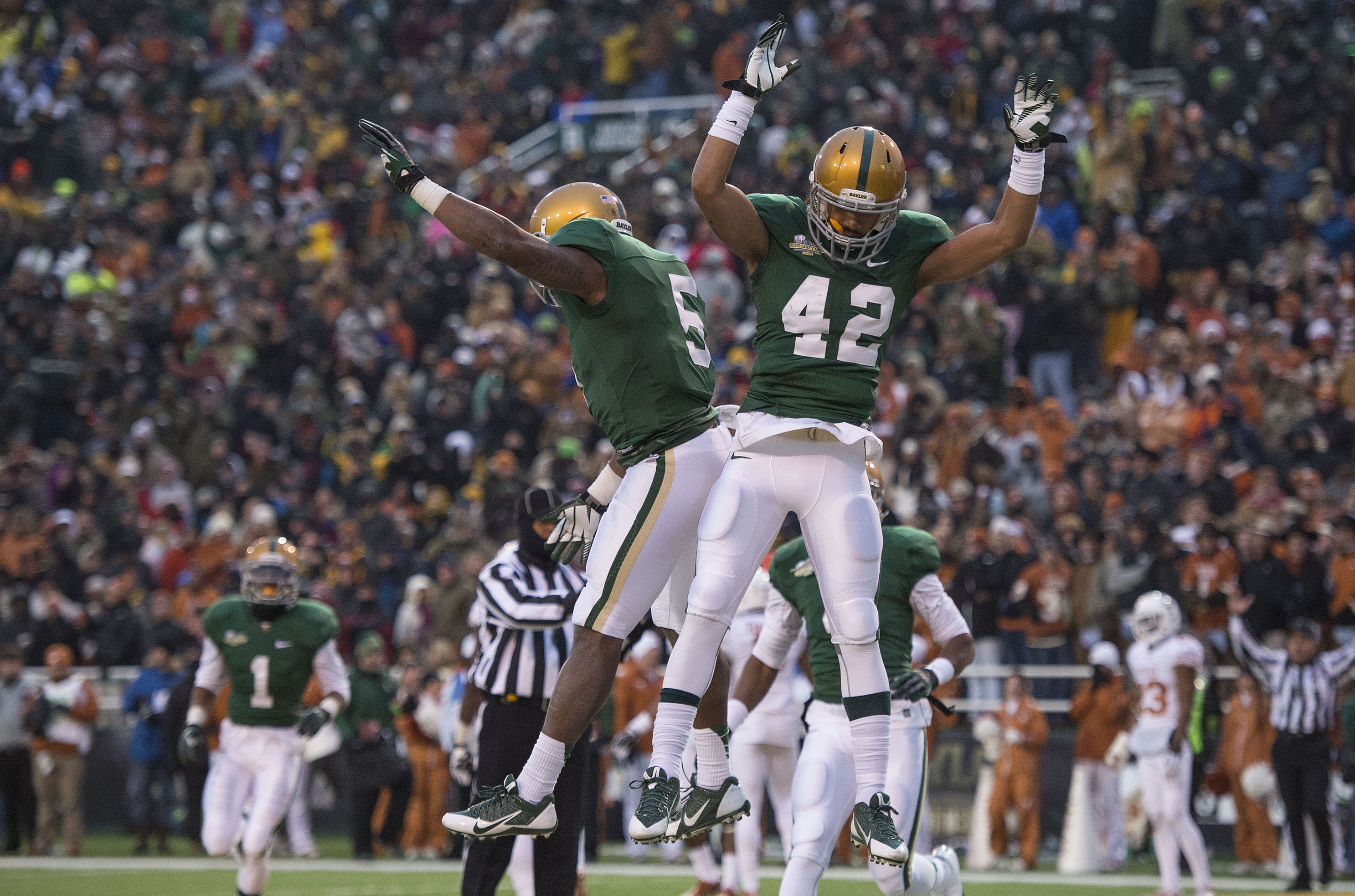 College Sports  Photos  The best celebration images from Baylor s Big 12  title-clinching win over Texas  53c2571d0