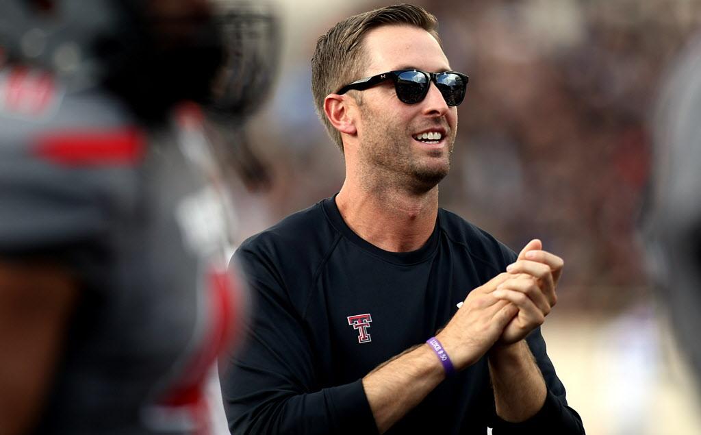 2e2e87d80f8d College Sports: Sherrington: Meet Texas Tech's Kliff Kingsbury ... the  coolest coach in college football | SportsDay