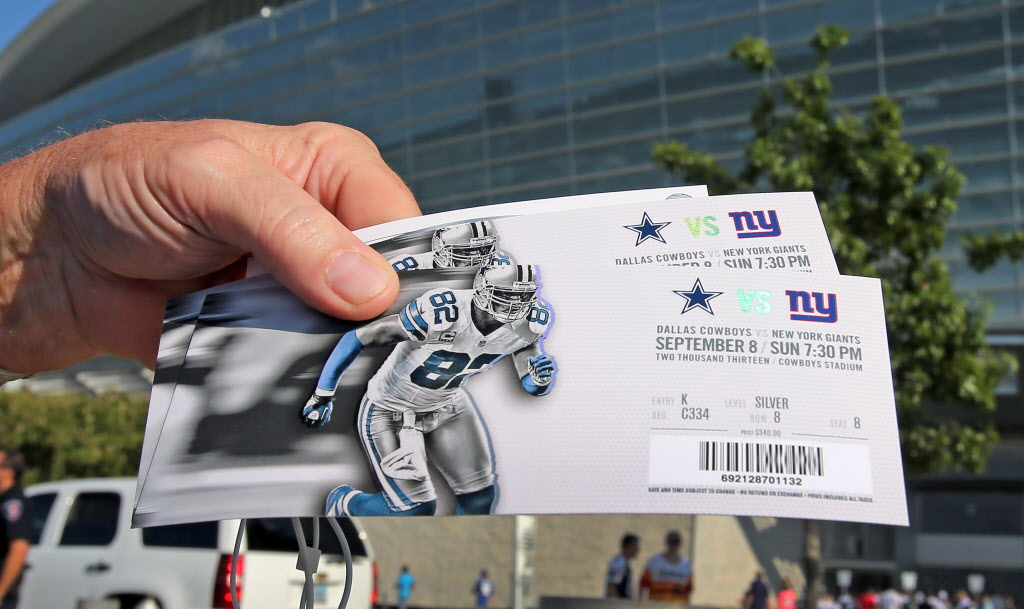 Dallas Cowboys  2014 Dallas Cowboys standing room only season tickets on  sale for  199  2eaeeb577