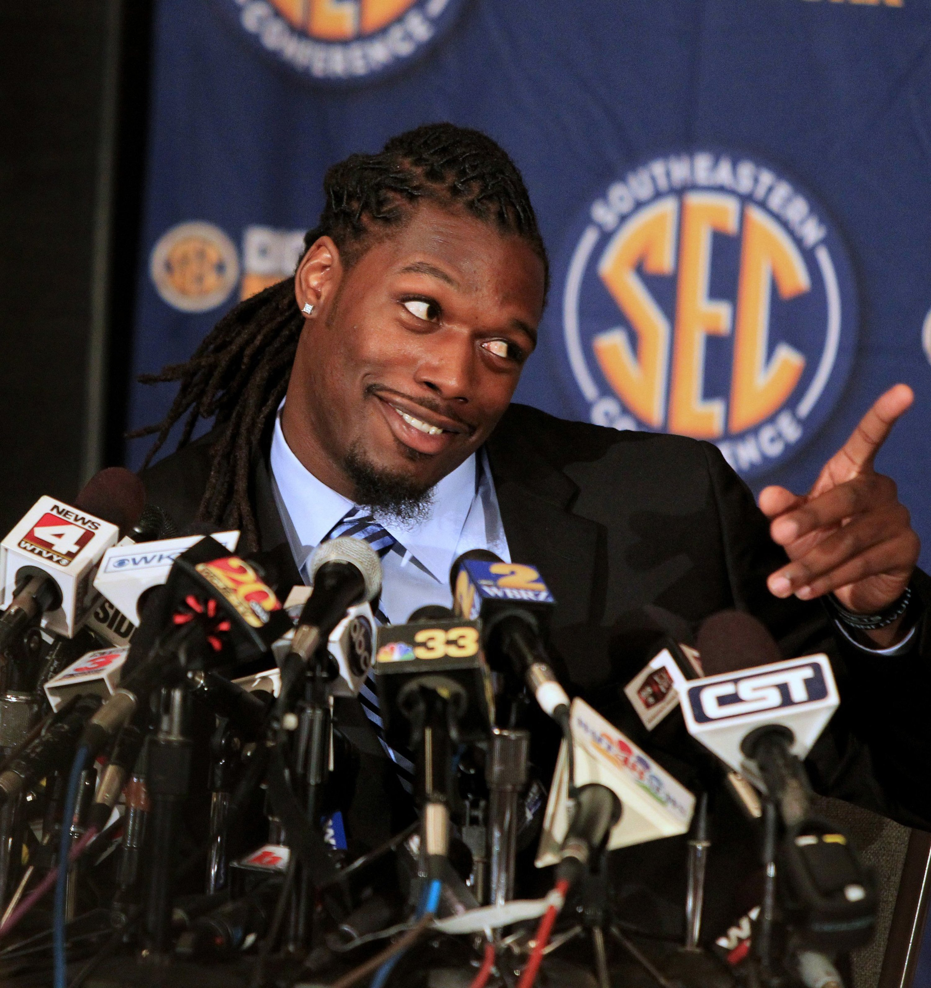 College Sports Hairopoulos Heisman hopeful Jadeveon Clowney has