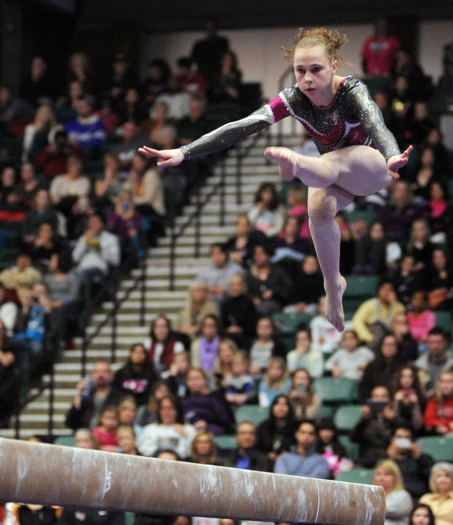 Other Sports Gruesome Injury Costs Dallas Gymnast Rebecca Bross A Shot At All Around Glory But Not Olympic Gold Sportsday