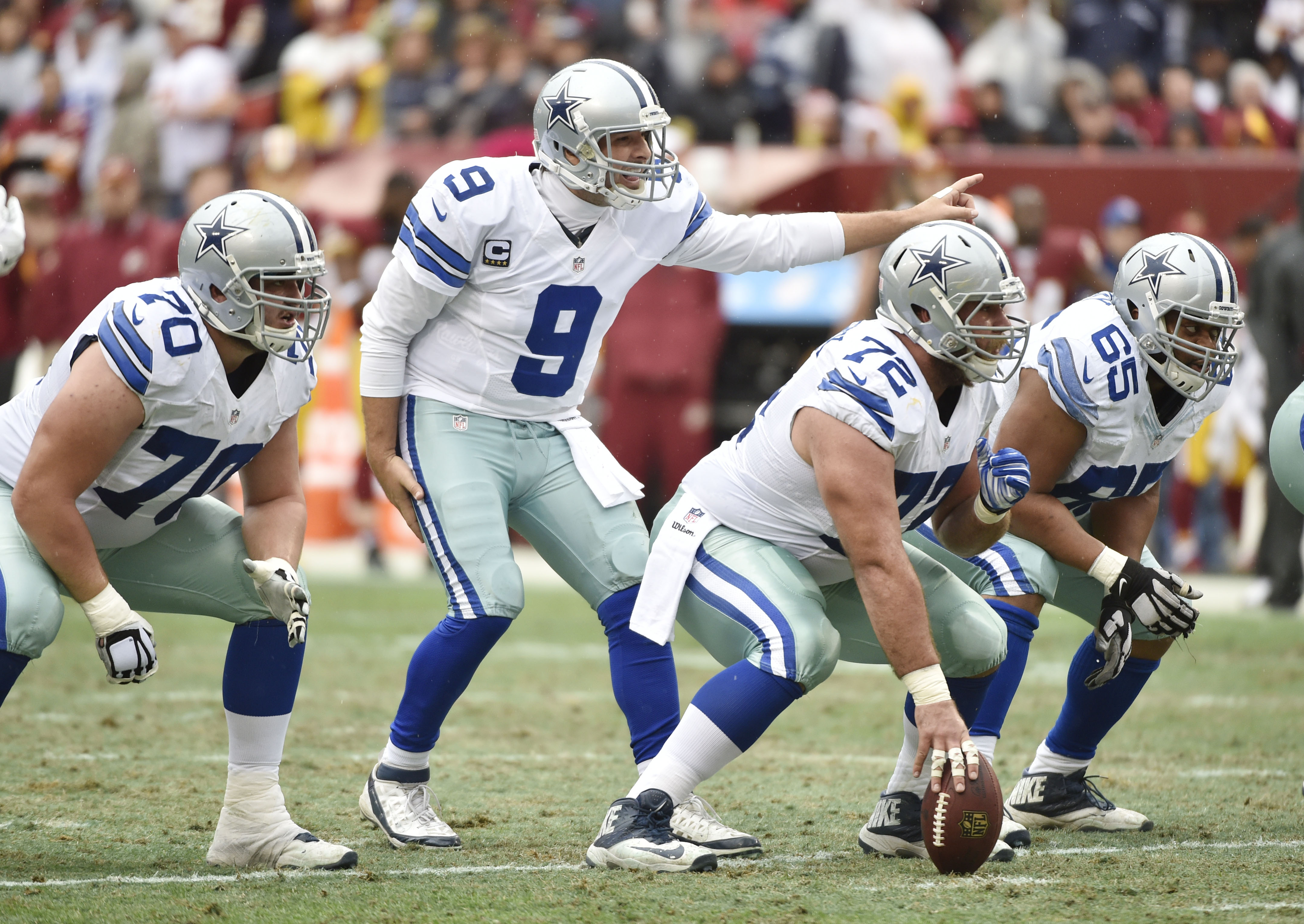 Dallas Cowboys  Could Cowboys offensive line give Tony Romo the opportunity  to play 5 more years   1f5c817b8