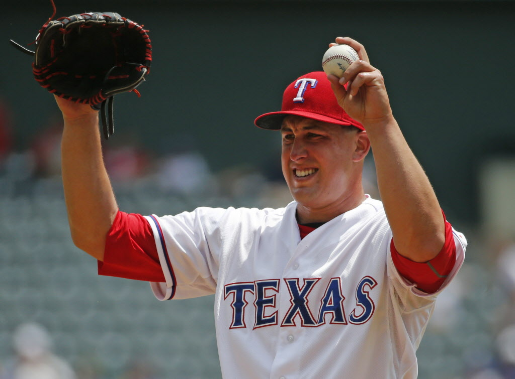 Texas Rangers Derek Holland Charlie Sheen Lost It When I Brought