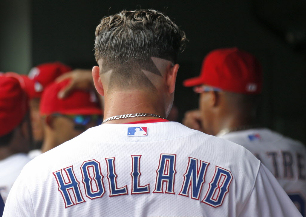 Texas Rangers Photo Derek Holland Who Has Been Rocking A Wild
