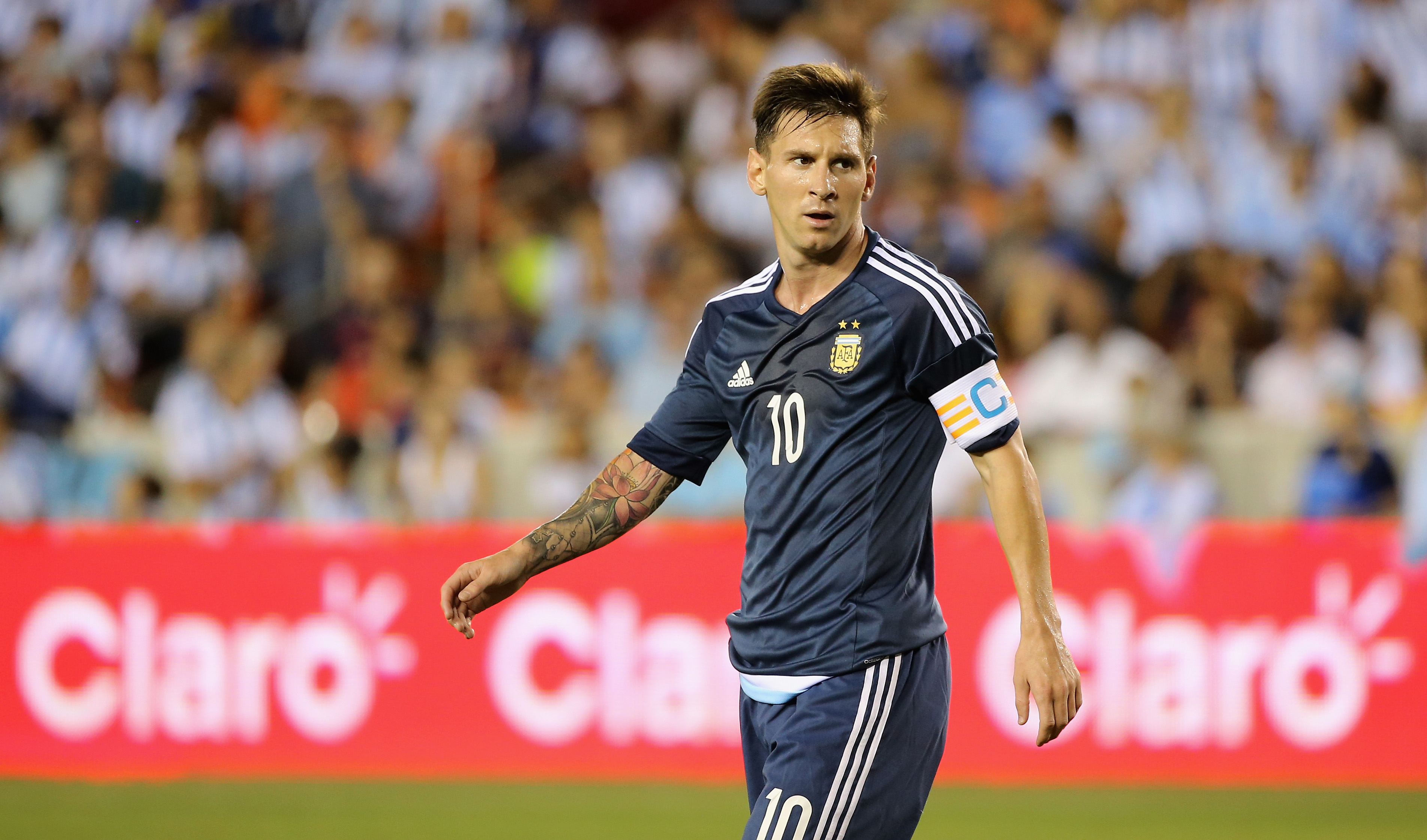 soccer lionel messi on the roster for argentina mexico tuesday at