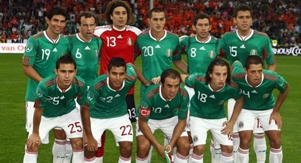 Výsledek obrázku pro mexico national team